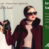 「break the bank」と意味