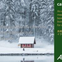 「cabin fever」の意味