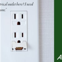 electrical outlet, not consent